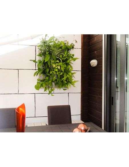 Jardín Vertical 15 Macetas con Soporte
