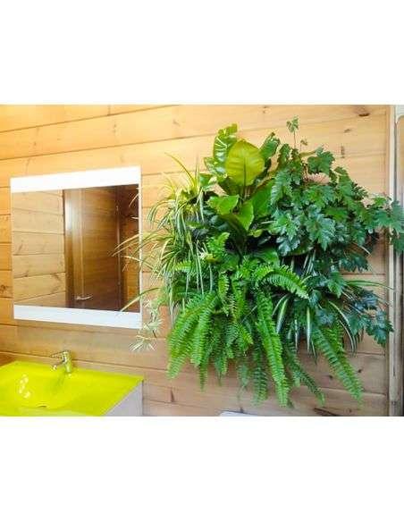 Jardín Vertical 9 Macetas con Soporte