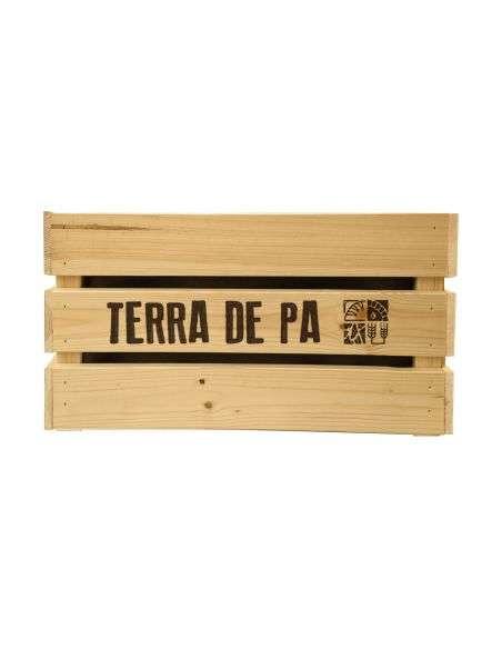 Kit Huerto Personalizable Cajón Madera Grande