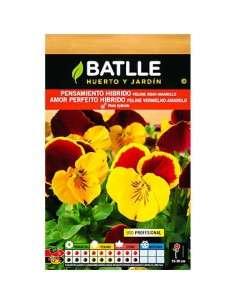 Semillas de Pensamiento Gigante Rojo-Amarilo Semillas Batlle - 1
