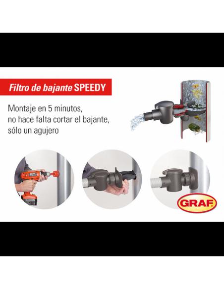 Filtro Speedy para Bajante Redonda GRAF - 6