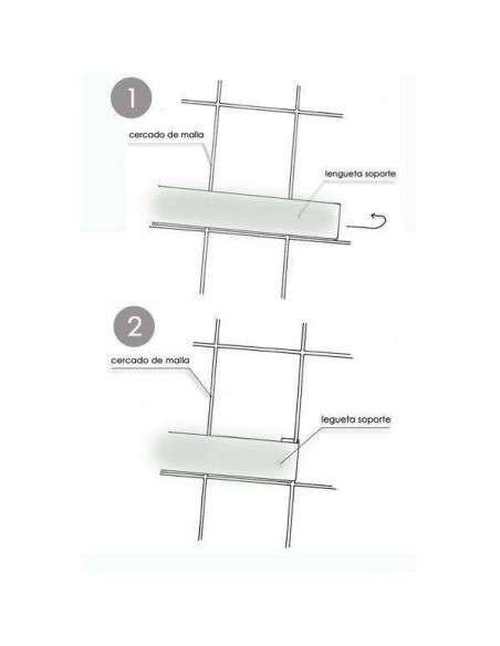 Maceta Vertical Fieltro con Soporte 24x19cm. VERTIFLOR - 15