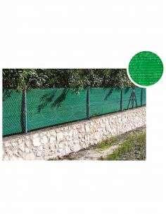 Malla de Ocultación Verde Rollo 100m.