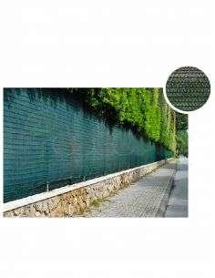 Malla Ocultación Verde 1,5m. Ancho x Rollo 100m