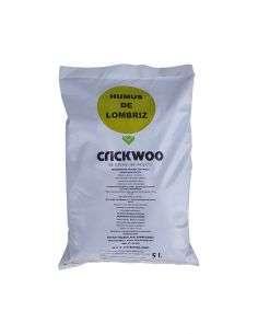 Humus lombriz Crickwoo 5 Litros