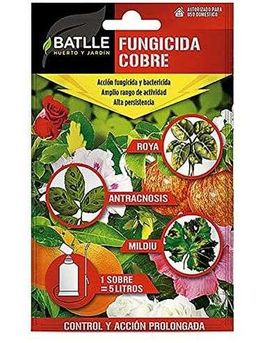 Fungicida Cobre BIO sobre para 5 litros
