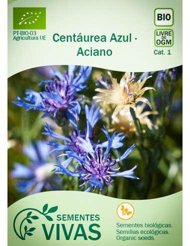Semillas Ecológicas Aciano - 2g.