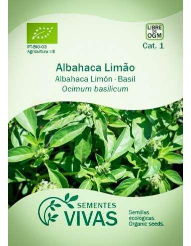 Semillas Ecológicas Albahaca limón - 2g.