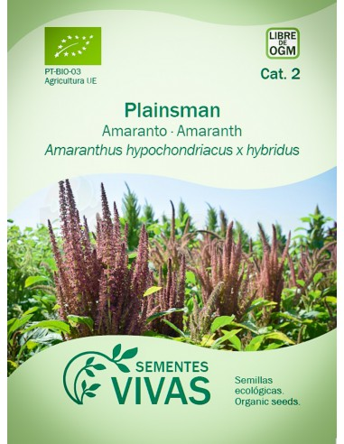 Semillas Ecológicas Amaranto Plainsman - 1g.