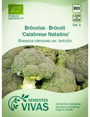Semillas Ecológicas Brócoli Calabrese Natalino - 1,4g.