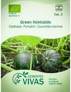 Semillas Ecológicas Calabaza Green Hokkaido - 4g.