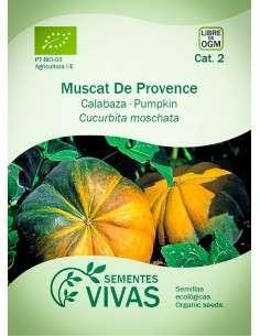 Semillas Ecológicas Calabaza Muscat de Provence - 2g.