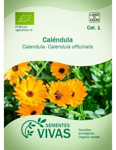 Semillas Ecológicas Caléndula - 1g.