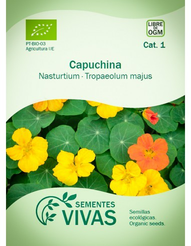 Semillas Ecológicas Capuchina - 2g.
