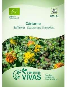 Semillas Ecológicas Cártamo - 1g.