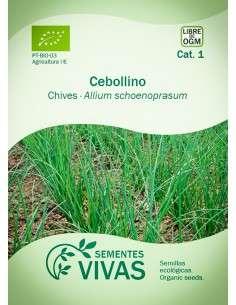 Semillas Ecológicas Cebollino - 1g.