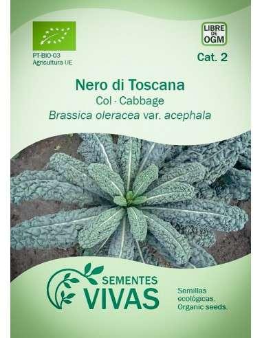 Semillas Ecológicas Col Nero di Toscana - 1,2g.