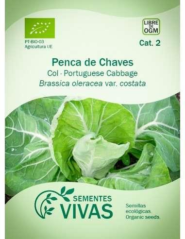 Semillas Ecológicas Col Penca de Chaves - 1,2g.