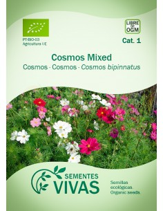 Semillas Ecológicas Cosmos Mix - 1g.