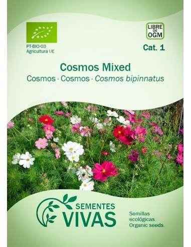 Semillas Ecológicas Cosmos Mix - 1g.