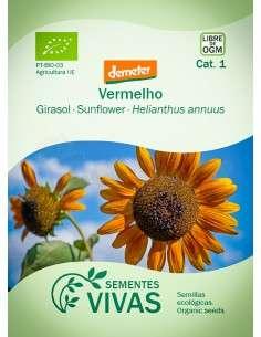 Semillas Ecológicas Girasol Velvet Queen - 1g.