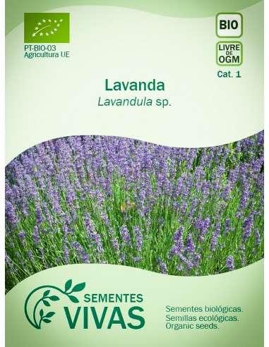 Semillas Ecológicas Lavanda - 0,5g.