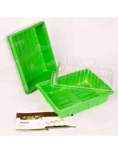3 Mini invernaderos ligeros 23x18x13cm. COCOPOT - 1