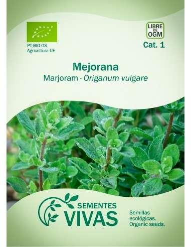 Semillas Ecológicas Mejorana - 0,5g.