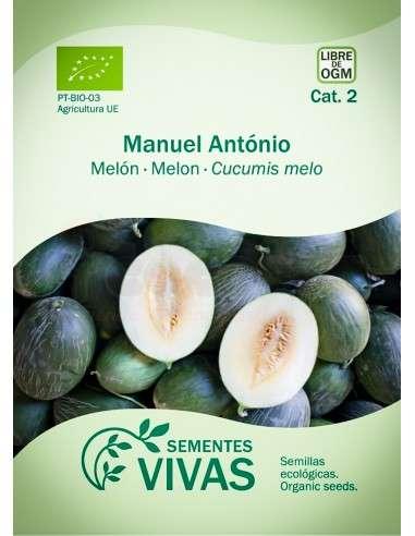 Semillas Ecológicas Melón Manuel António - 2g.
