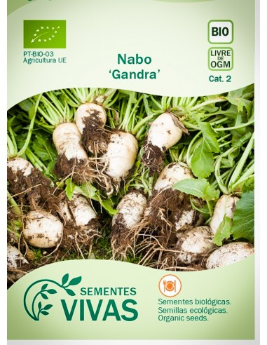 Semillas Ecológicas Nabo Gandra - 1,5g.