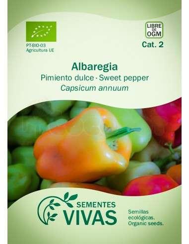 Semillas Ecológicas Pimiento Albaregia - 0,3g.