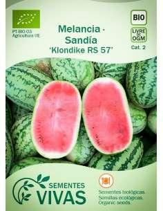 Semillas Ecológicas Sandía Klondike RS 57 - 3g.