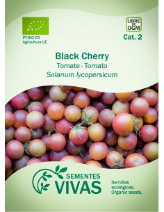 Semillas Ecológicas Tomate Black Cherry - 0,3g.