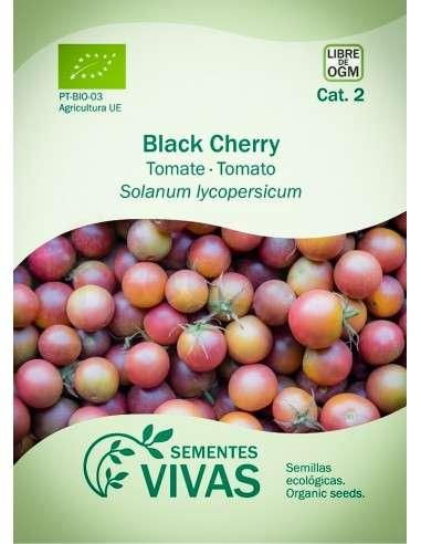 Semillas Ecológicas Tomate Black Cherry - 0,3g.