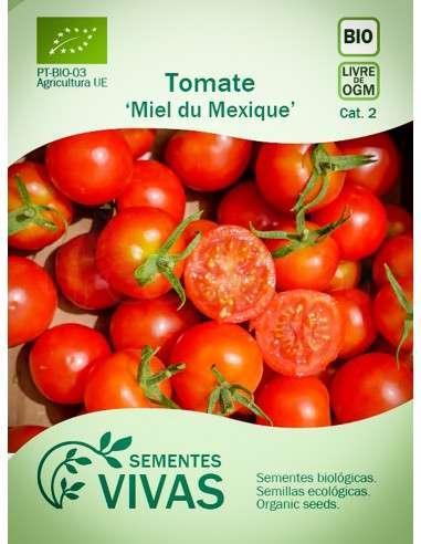 Semillas Ecológicas Tomate Miel du Mexique - 0,3g.