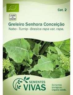 Semillas Ecológicas Nabo Greleiro Senhora Conceição - 1,5g.