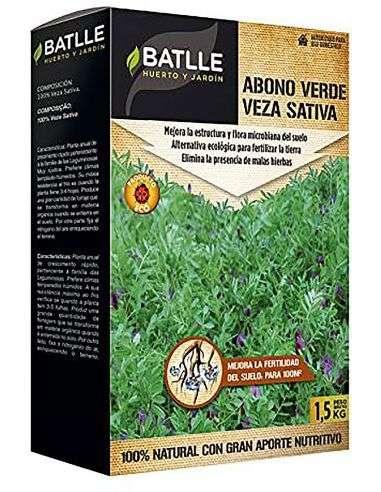 Semillas de Veza Sativa 1,5kg. abono verde