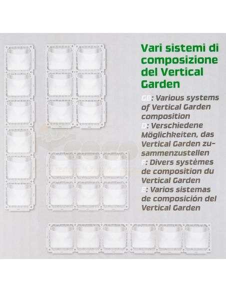 Jardín Vertical Modular para 6 plantas