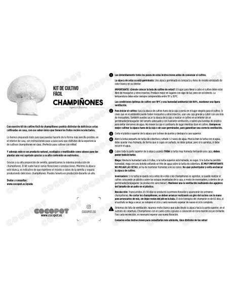 Bala de Champiñón 6-7Kg. Ecológica