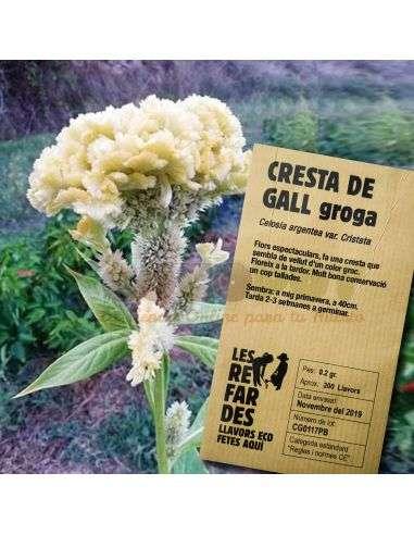 Semillas Ecológicas de Cresta de Gallo Amarilla