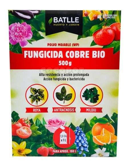 Fungicida Cobre BIO Polvo 500g.
