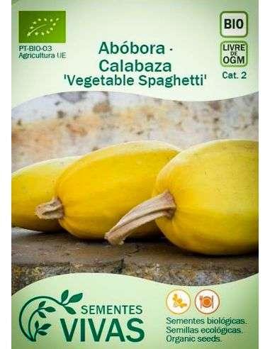 Semillas Ecológicas Calabaza Vegetable Spaghetti - 2g.