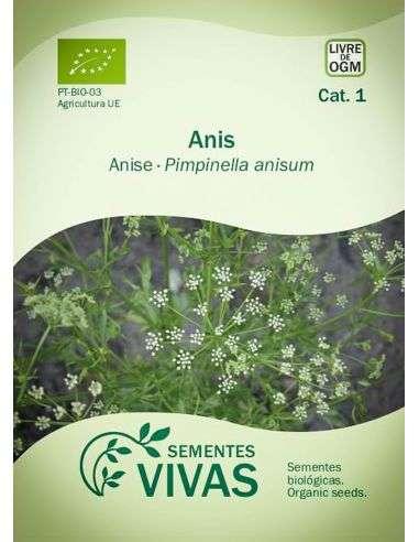 Semillas Ecológicas Anís Verde