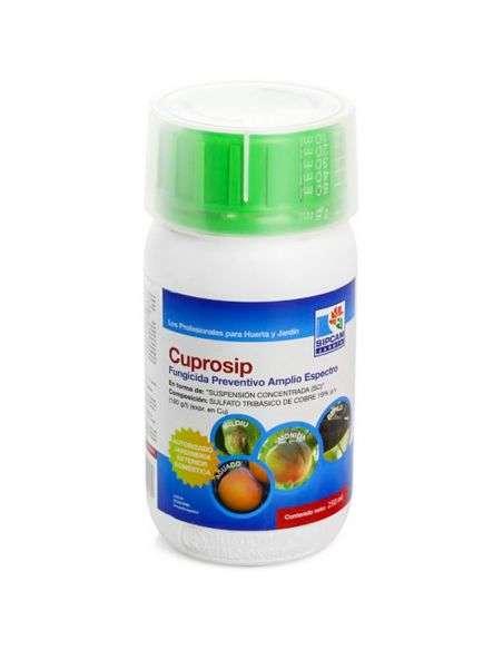 Fungicida amplio espectro CUPROSIP 250ml.
