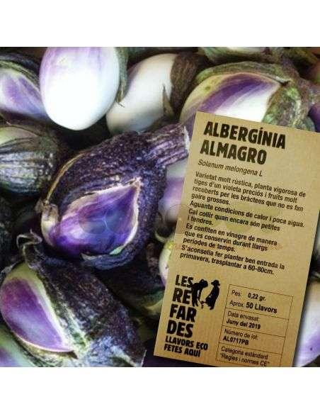 Semillas Ecológicas Berenjena Almagro