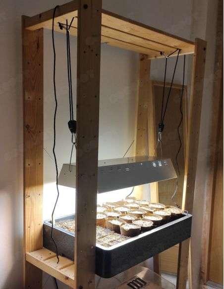 Luminaria Twin 2x55W (con 2 tubos de repuesto)