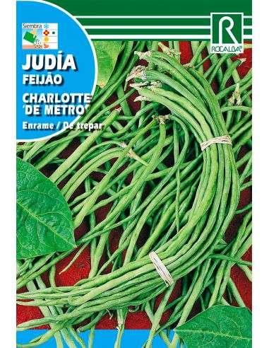 Semillas de Judía Enrame de Metro Charlotte 30g.