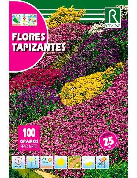 Semillas Mix de Flores Tapizantes 100g (para 25m2)