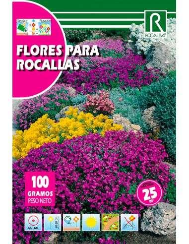 Semillas Mix de Flores para Rocallas 100g (para 25m2)