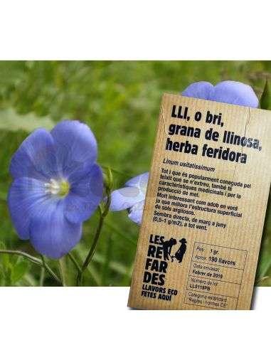 Semillas Ecológicas Lino 1g. (Abono verde)
